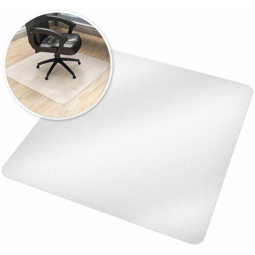 TECTAKE Bodenschutzmatte für Bürostühle - Bürostuhlunterlage, Bodenmatte,