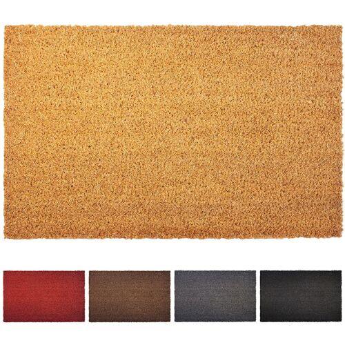Floordirekt - Kokosmatte natur 2,4 cm Dicke 80 cm x 100 cm