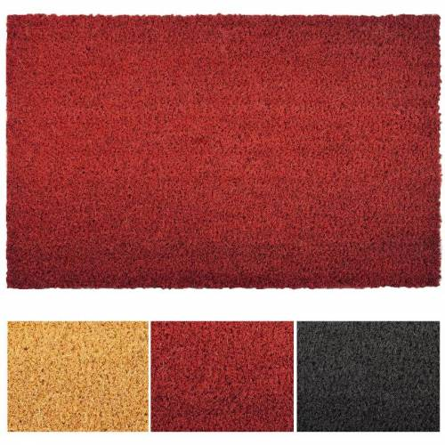 Floordirekt - Kokosmatte rot 2,4 cm Dicke 200 cm x 400 cm