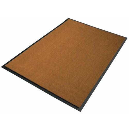Floordirekt - Premium-Schmutzfangmatten als Zuschnitt Braun B23, Länge: