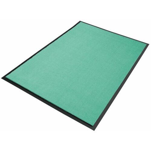 Floordirekt - Premium-Schmutzfangmatten als Zuschnitt Minze B32, Länge: