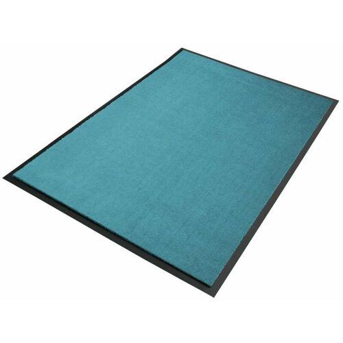 Floordirekt - Premium-Schmutzfangmatten als Zuschnitt Türkis B31,
