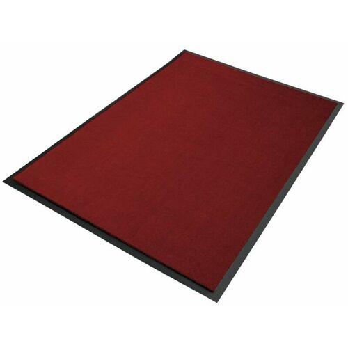 Floordirekt - Premium-Schmutzfangmatten als Zuschnitt Weinrot B11,