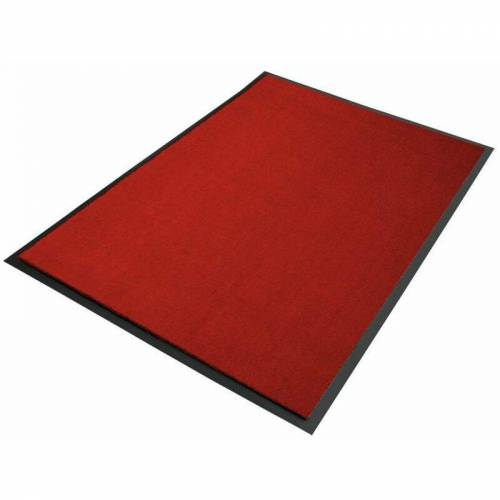 Floordirekt - Premium-Schmutzfangmatten als Zuschnitt Dunkelrot B12,