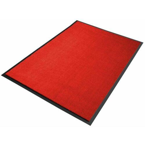 Floordirekt - Premium-Schmutzfangmatten als Zuschnitt Rot B13, Länge: