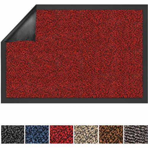 Floordirekt - Schmutzfangmatte SKY rot 60 x 90 cm