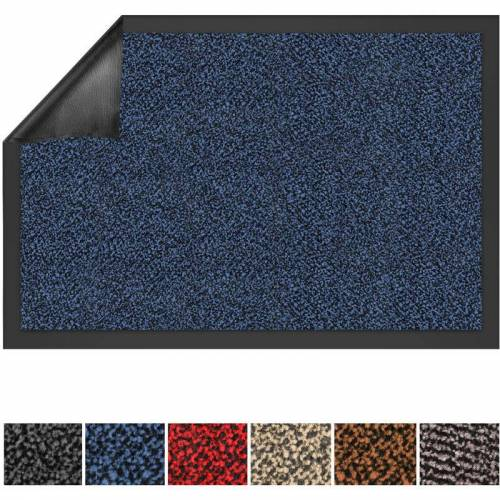 Floordirekt - Schmutzfangmatte SKY blau 90 x 120 cm