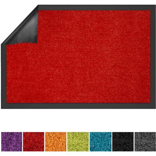 Floordirekt - Schmutzfangmatte Use&Wash Rot 90 x 120 cm