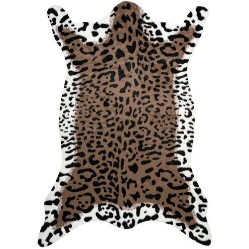 One Couture - Teppich Fell Tierfell Optik Leopard Tier Wohnzimmer