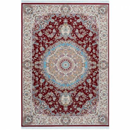 One Couture - Teppich Klassisch Orientalisch Ornamente Aubusson Fransen