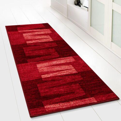 Floordirekt - 1A Teppich-Läufer auf Maß gekettelt Via Veneto rot