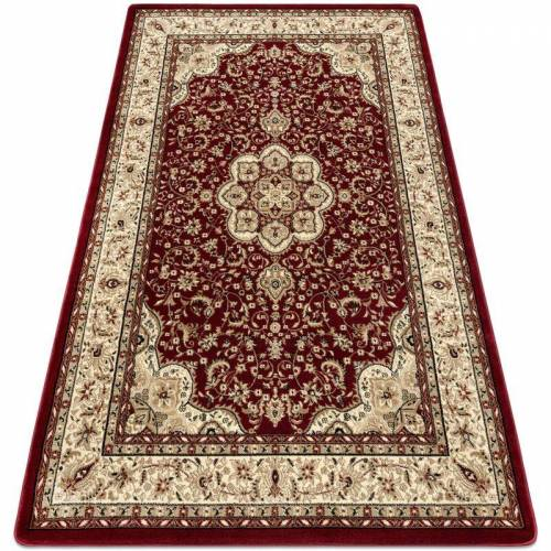 Rugsx - Teppich ROYAL AGY modell 0521 rotwein Rottönen 400x500 cm