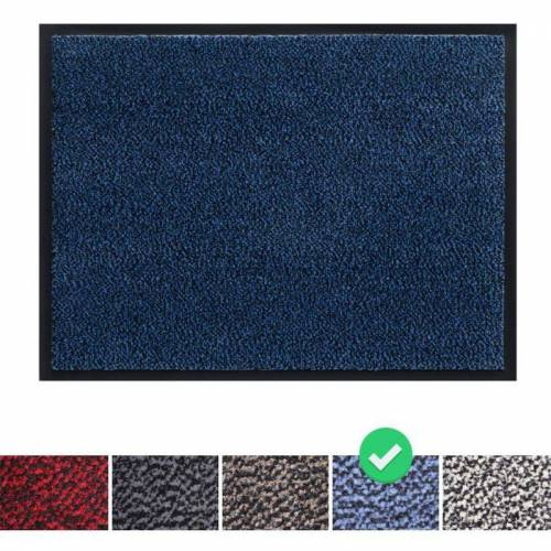 Panorama24 - Fußmatte Schmutzfangmatte 120x180 cm, Farbe: Blau,