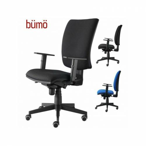 B.M. bümö ergonomischer Premium Drehstuhl Farbe: Blau