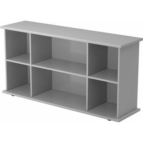 B.M. bümö Sideboard offen Dekor: Grau