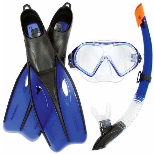 Bestway - Diver Schnorchelset Flossen - Maske - Schnorchel - 2 Farben /