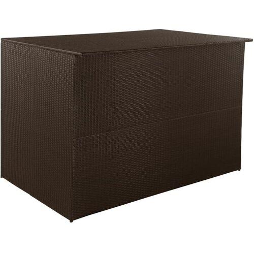 Zqyrlar - Gartenbox Braun 150×100×100 cm Poly Rattan