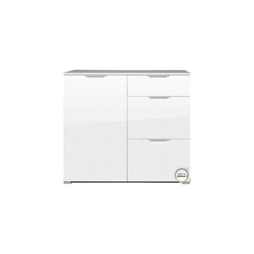 CERTEO Kommode 'Bali' HxBxT 840 x 960 x 400 mm, weiß Sideboard Lowboard