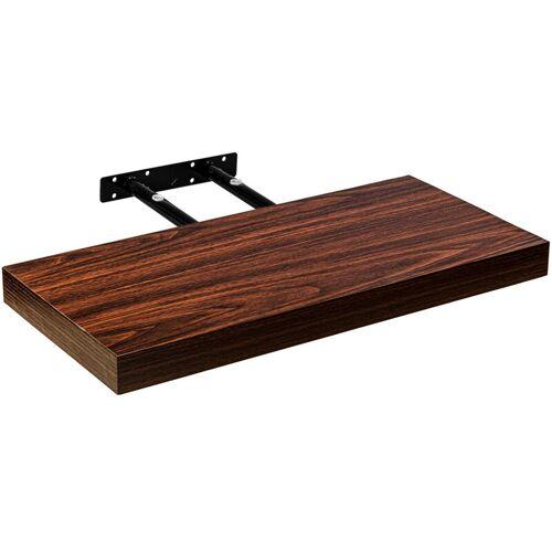 STILISTA ® Wandboard 'Volato' Länge 60 cm, Holz dunkel - Stilista