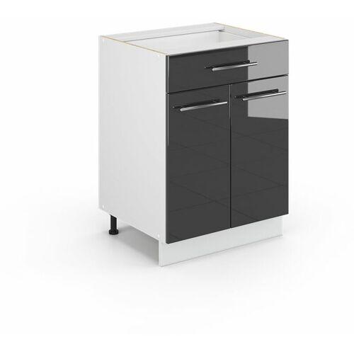 Vicco Schubunterschrank 60 cm Küchenschrank Küchenschränke