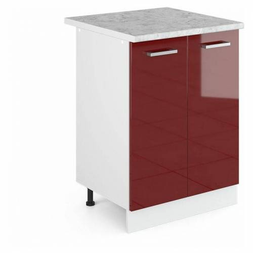 VICCO Unterschrank 60 cm Küchenschrank Küchenzeile Küchenunterschrank R-Line