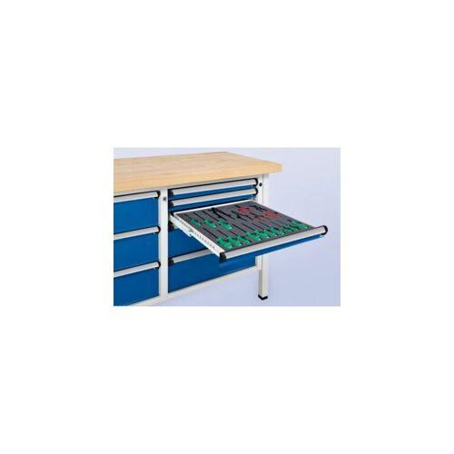 ANKE Werkbank, stabil, 2 Schubladen 180 mm, 2 Schubladen 360 mm, Höhe 890 mm