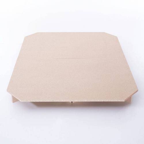 BELIANI Podest für Wasserbettmatratzen MDF-Platte für Betten 140 x 200 cm
