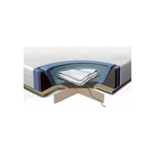 Beliani - Wasserbettmatratzen Set Schaumstoff Polyester Vinyl