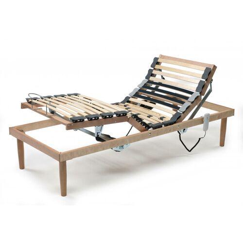 TALAMO ITALIA Zusammenklappbares motorisiertes Lattenrost aus Holz, hergestellt in