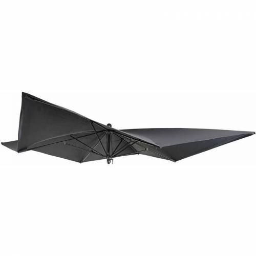 HHG Bezug für Luxus-Sonnenschirm 872, Sonnenschirmbezug Ersatzbezug, 3x3m
