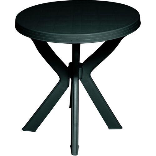DMORA Runden kleiner Tisch für den Gärten , Made in Italy, 70 x 70 x 72 cm,