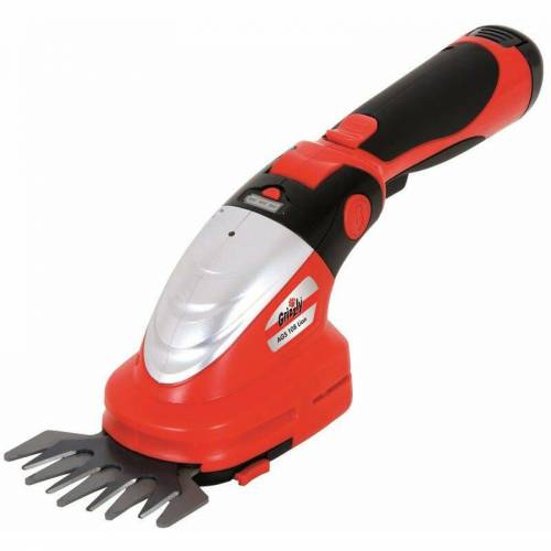 GRIZZLY TOOLS Akku Gras- und Strauchschere AGS 108, Lion 10,8 V, 2 Ah - Grizzly Tools