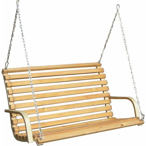 AMANKA Hollywoodschaukel Bank - Holz Schaukelbank mit Befestigung