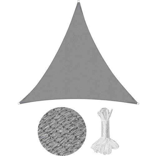 Sekey - Sonnensegel Sonnenschutzsegel Sonnenschutz Dreiecke HDPE,