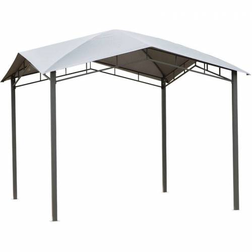 Outsunny ® Gartenpavillon Pavillon Überdachung Vordach Sonnenschutz Partyzelt
