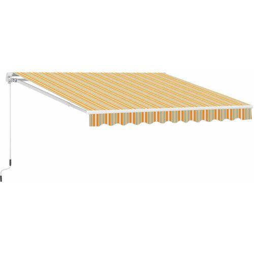 Outsunny ® Markise Alu-Gelenkarm Gelenkarmmarkise 5 Farbe Sonnenschutz Balkon