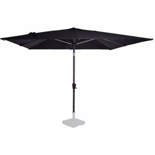VONROC Parasol Sonnenschirm Rosolina 280x280 cm – Stocksonnenschirm kippbar –