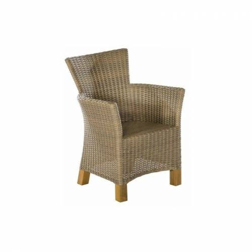 Merxx - Sessel 2er Set Palmar-29 Aluminium / Kunststoffgeflecht /