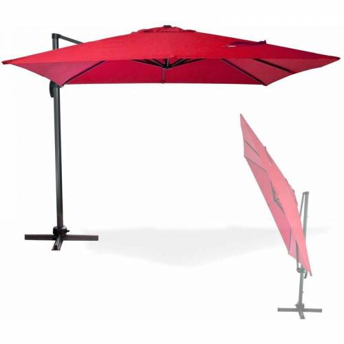 DEMA Sonnenschirm Ampelschirm Gartenschirm Marktschirm Kurbelschirm Schirm
