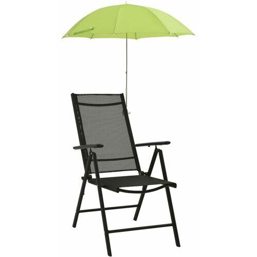 Zqyrlar - Sonnenschirme für Campingstühle 2 Stk. Grün 105 cm
