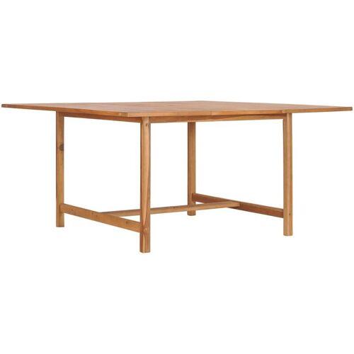 YOUTHUP Gartentisch 150 x 150 x 76 cm Massivholz Teak