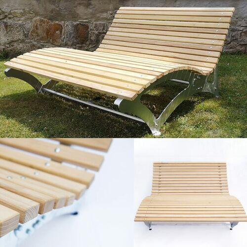 Ms Point - 160 cm Gartenliege Relaxliege Sonnenliege Gartenbank Garten