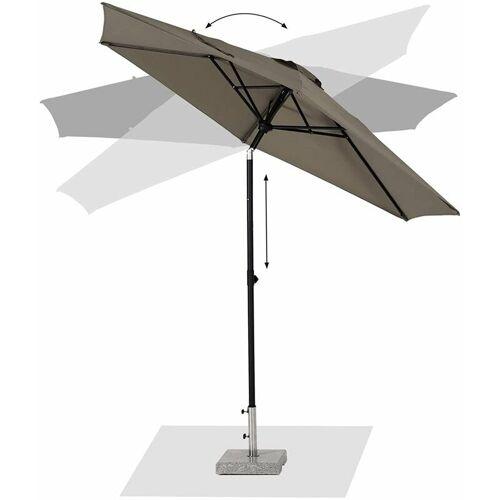 SEKEY 300 cm Knickbarer Sonnenschirm für Balkon Terrasseschirm Sonnenschutz