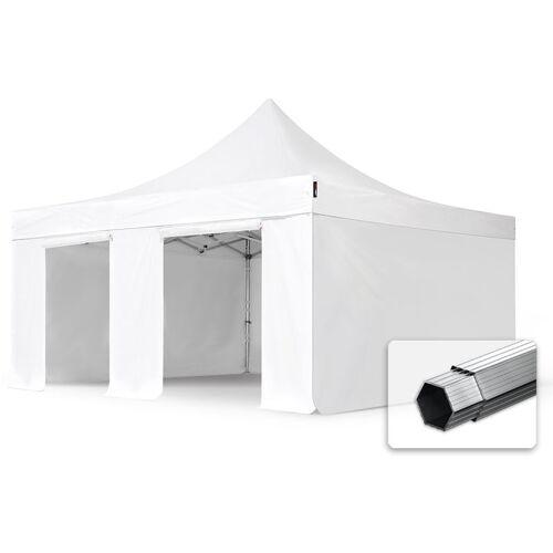 Profizelt24 - ALU Pavillon Faltpavillon 5x5m ohne Fenster robust und