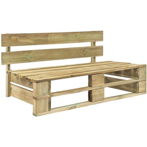 Asupermall - Garten-Palettenbank Holz