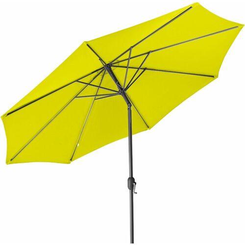GARTENFREUDE Sonnenschirm, 300 cm, lemon - Lemon - Gartenfreude