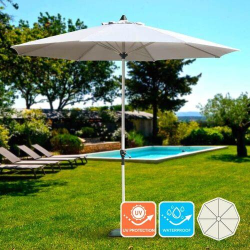 Elios Parasols - Gartenschirm 3m Sonnenschirm Garten Café Alu