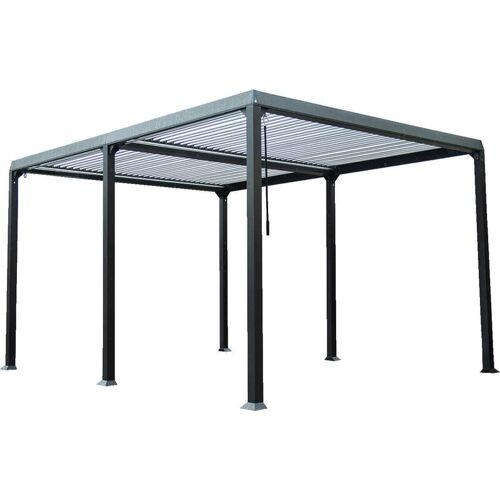 HOME DELUXE Lamellenpavillon Cannes   Pavillon Gartenpavillon Terrasse Partyzelt