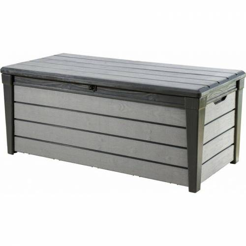 Tepro Garten - Tepro Auflagenbox Brushwood 455 l, mit Sitzfunktion
