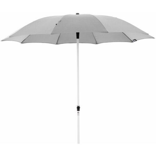 KNIRPS Sonnenschirm 'Silver Manual 220' 220 cm, grau, Bezug aus 100%